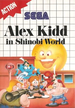 Sega Master System Game Covers